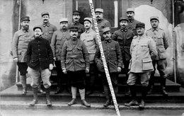 07 PRIVAS / CARTE PHOTO / 1918 / 61e ET 261e RI / PERSONNEL DU DÉPÔT / 61e ET 261e REGIMENT D'INFANTERIE - Privas