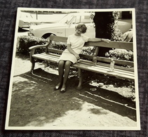 Vintage PIN-UP PORTRAIT Photo - Hübsche Frau - Nice Woman - Jolie Femme /c73 - Pin-up