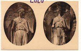 DEPT 51 : édit. G Graff Et Lambert N° 72 : Reims Sa Cathédrale Ses Ruines , L Ange Au Sourire Après Et Avant - Reims