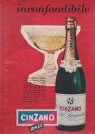 (pagine-pages)PUBBLICITA' CINZANO  Settimogiorno1958/47. - Livres, BD, Revues
