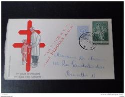 Belgique 1957-1960 FDC Antituberculeux Avec Timbres N° 1027A Et 1093 - FDC