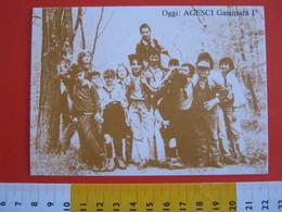 G.2 ITALIA GATTINARA VERCELLI - CARD NUOVA - 1989 SCAUTISMO SCOUTING SCOUTS AGESCI OGGI CI CATTOLICI - Scoutismo