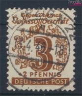 Sowjetische Zone (All.Bes.) 138IV, Offenes O In POST Gestempelt 1946 Volkssolidarität (9281065 - Sowjetische Zone (SBZ)