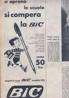 (pagine-pages)PUBBLICITA' BIC   Settimogiorno1958/42. - Livres, BD, Revues