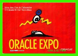 ADVERTISING - PUBLICITÉ - ORACLE EXPO 1996 - PARIS LA DÉFENSE - - Publicité