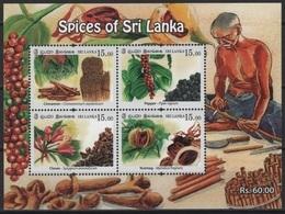 Sri Lanka (2019) - Block -  /  Spices - Food - Gastronomie - Gastronomy - Gastronomia - Alimentation