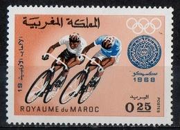 Marocco Morocco 1968 - Ciclismo Cycling MNH ** - Marruecos (1956-...)