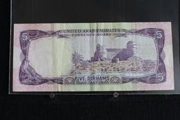 M-An / Billet  - United Arab Emirates  Five Dirham ( 5 Dirham )  / Année ? - Emirats Arabes Unis