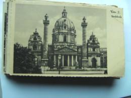 Oostenrijk Österreich Wien Wenen IV Karlskirche - Kerken