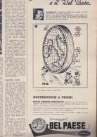 (pagine-pages)PUBBLICITA' BELPAESE Settimanaincom1958/26. - Livres, BD, Revues