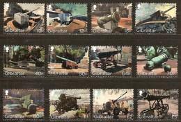 Gibraltar  2018 Micheln° 1843-1854 *** MNH  Cote 25 Euro Kanonen Cannons - Gibraltar