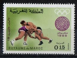 Marocco Morocco 1968 - Lotta Wrestling MNH ** - Lotta