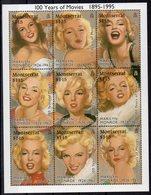 MONTSERRAT  - Timbres Neufs ** Année 1995  ( Ref 6262 )  Cinéma - Marilyn Monroe - Montserrat