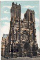 DEPT 51 : édit. L V & Cie N° 1855 : Reims Façade De La Cathédrale - Reims