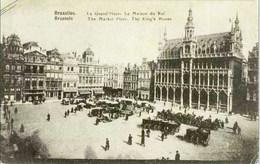 BRUXELLES - La Grand'Place - Oblitération De 1938 - Places, Squares