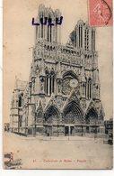 DEPT 51 : édit. Noyer N° 85 : Reims Façade De La Cathédrale - Reims