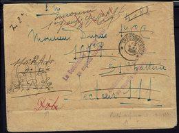 """FR - Enveloppe D'un Soldat Du 11 Ral S.P.72 Vers S.P. 111 Dôle - Inconnu - Libéllé En Bas """"Porté Disparu 10-4-18"""" B/TB - - Marcophilie (Lettres)"""