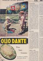 (pagine-pages)PUBBLICITA' OLIO DANTE  Settimanaincom1958/52. - Livres, BD, Revues