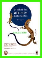 ADVERTISING - PUBLICITÉ - MUSÉUM NATIONAL D'HISTOIRE NATURELLE - 2e SALON DES ARTISTES NATURALISTES ESPACE JAPON  1997 - - Publicité