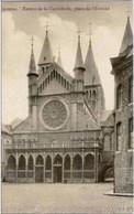 TOURNAI - Entrée De La Cathédrale, Place De L'Evêché - Edit. A. Cazy, Tournai N° 2 - Oblitération De 1929 - Tournai