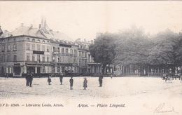 CPA - D.V.D. N°11348 -  Arlon - Place Léopold - 1905 - Arlon