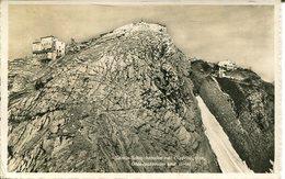 007338  Säntis-Schwebebahn Mit Gipfelstation, Observatorium Und Hotel  1935 - Schweiz