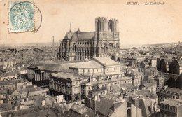 DEPT 51 : édit. N D N° 2 : Reims La Cathédrale - Reims