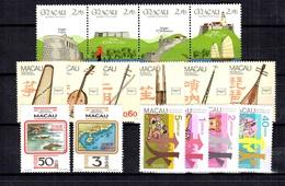 Macao YT N° 464/467, N° 468/469, N° 525/530 Et N° 535/538 Neufs ** MNH. TB. A Saisir! - Macao