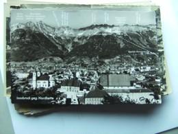 Oostenrijk Österreich Tirol Innsbruck Und Nordkette Mit Bedeutung - Innsbruck