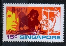 Singapore 1972 - Formazione Tecnologica E Scientifica Technical And Scientific Training MNH ** - Professioni