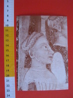 G.2 ITALIA GATTINARA VERCELLI - CARD NUOVA - 1992 750 ANNI BORGO FRANCO 1242 AFFRESCO CORTEO DEI NOBILI - Cartoline