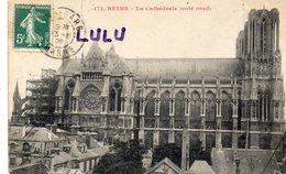 DEPT 51 : édit. ? : Reims La Cathédrale Coté Nord - Reims