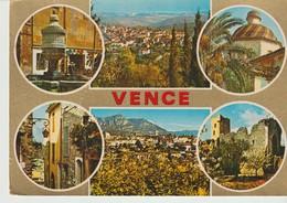 C. P. - PHOTO -SOUVENIR DE VENCE -  88/178 - 6 VUES - S. E. P. T. - Vence