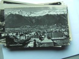 Oostenrijk Österreich Tirol Innsbruck Und Hinten Die Nordkette - Innsbruck