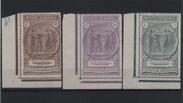 1923 Camicie Nere Serie Cpl MLH Angolo Foglio +++ - 1900-44 Victor Emmanuel III