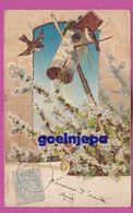 Oiseau, Printemps (SER 856 N°2390° 6 EN RELIEF 1903) - Birds