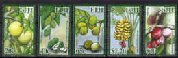 2010 - FIJI - Yv. Nr. 1228-1232 - NH - (UP.207.45) - Fiji (1970-...)