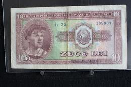 M-An / Billet  - Roumanie - Republica Populara Romana,  10,  Zece Lei  / Année ? - Roumanie