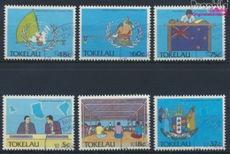 Tokelau 153-158 (kompl.Ausg.) Gestempelt 1988 Politische Ereignisse (9294108 - Tokelau
