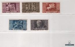 1937 Augusto Serie Cpl P.a. US - 1900-44 Vittorio Emanuele III
