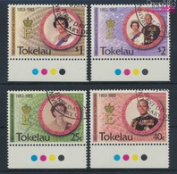 Tokelau 192-195 (kompl.Ausg.) Gestempelt 1993 Krönung Königin Elisabeth II. (9294101 - Tokelau
