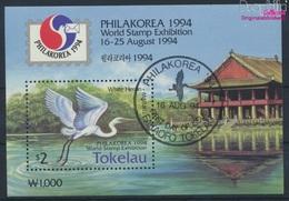 Tokelau Block3 (kompl.Ausg.) Gestempelt 1994 Briefmarkenausstellung (9294098 - Tokelau