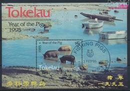 Tokelau Block4 (kompl.Ausg.) Gestempelt 1995 Chinesisches Neujahr (9294097 - Tokelau