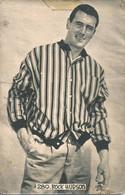CINEMA MOVIE ACTORS - American Actor ROCK HUDSON - Vtg CP 1950' - Artistas