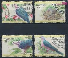 Tokelau 210-213 (kompl.Ausg.) Gestempelt 1995 Pazifikfruchttaube (9294095 - Tokelau