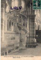 DEPT 51 : édit. ? : Interieur De Notre Dame De L Épine Chaire A Prêcher , Près De Chalons Sur Marne - L'Epine