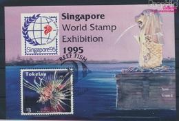 Tokelau Block5 (kompl.Ausg.) Gestempelt 1995 Fische (9294093 - Tokelau