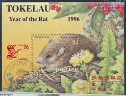 Tokelau Block7I (kompl.Ausg.) Gestempelt 1996 Chinesisches Neujahr - Peking (9294088 - Tokelau