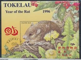 Tokelau Block7II (kompl.Ausg.) Gestempelt 1996 Chinesisches Neujahr - Taipei (9294087 - Tokelau