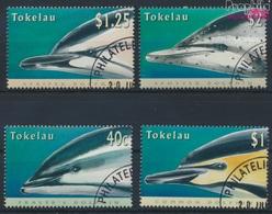 Tokelau 234-237 (kompl.Ausg.) Gestempelt 1996 Delphine (9294084 - Tokelau